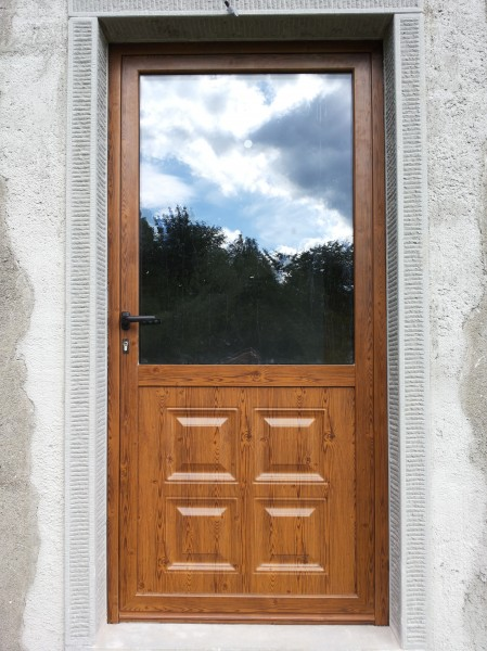 Bacci infissi corsagna lucca finestre alluminio e pvc - Porta esterna in alluminio ...